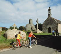 Bicycles in Carnac