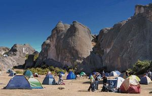 camping at Marca Huasi